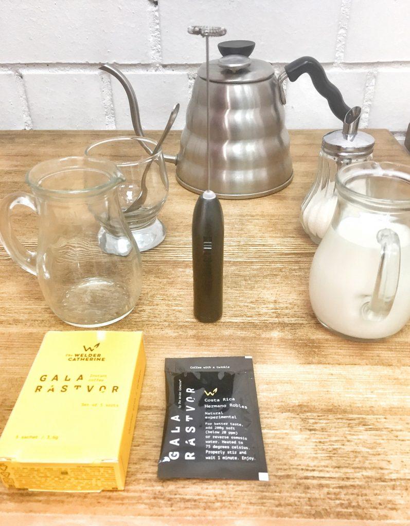 Далгона-кофе на Галарастворе