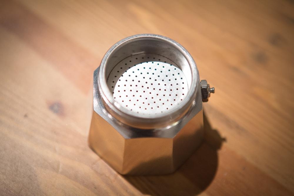 Металлический фильтр Гейзерной кофеварки