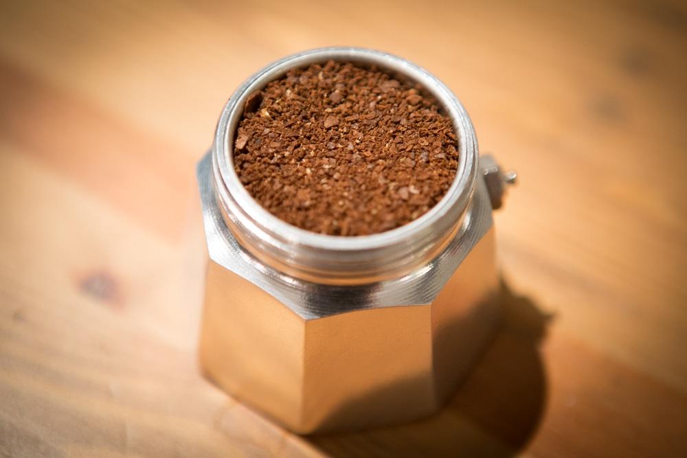 Помол кофе для Гейзерной кофеварки
