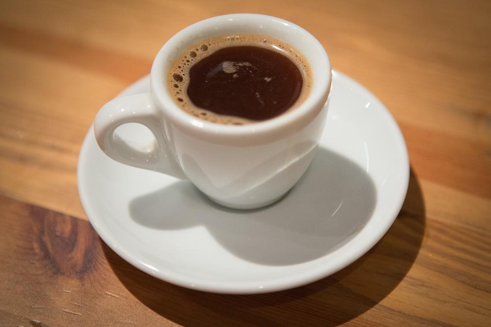 Готовый кофе из Гейзерной кофеварки