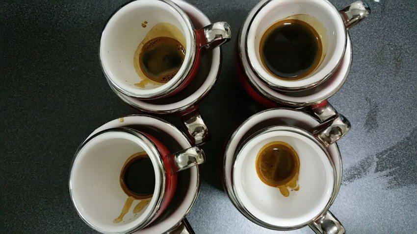 После дегустации кофе