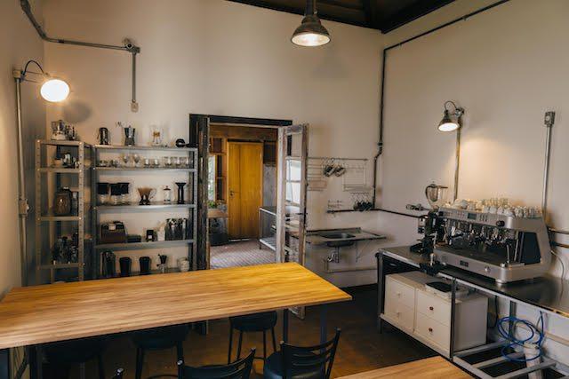 Класс обучения в Лаборатории кофе