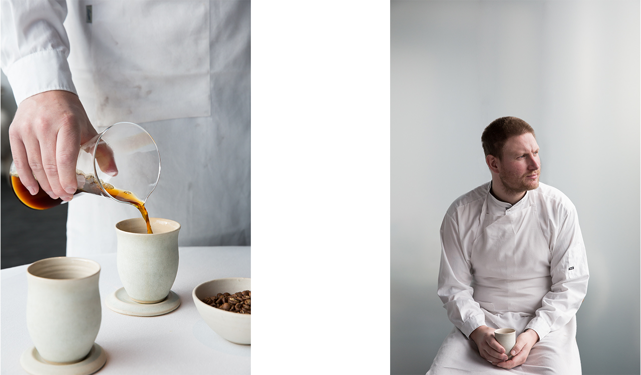 Maaemo Norway coffee Wilfa