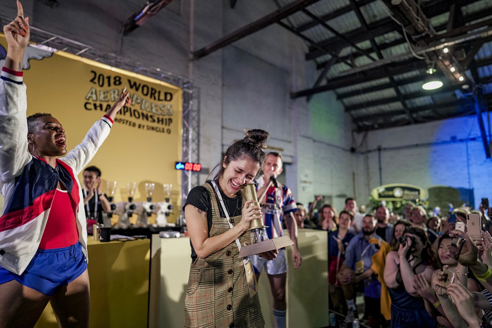 Победитель World AeroPress Championship 2018 - Carolina Ibarra Garay (США)