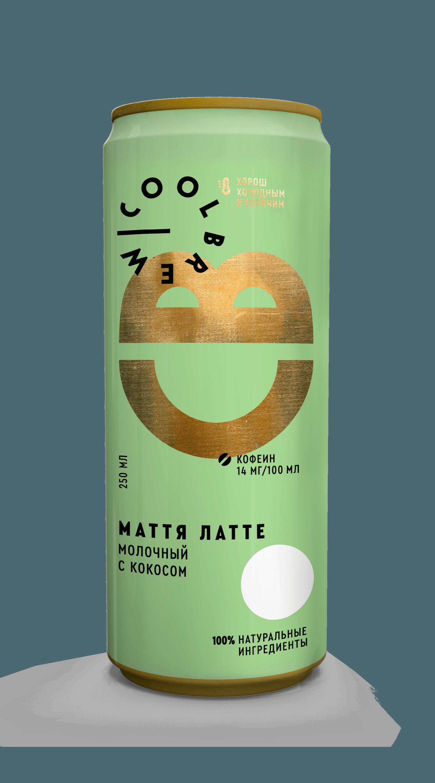 Маття Латте молочный чай с кокосом