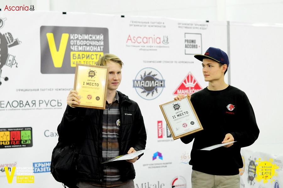 Победитель Крымского Отборочного Чемпионата по Кап-тестингу