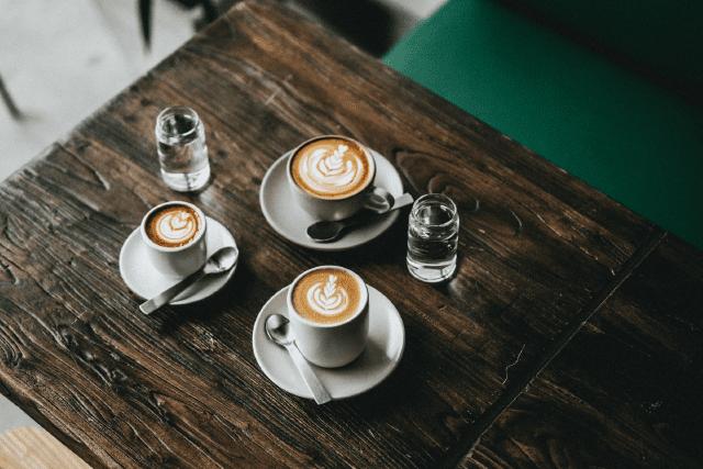 Вариант молочного кофейного напитка