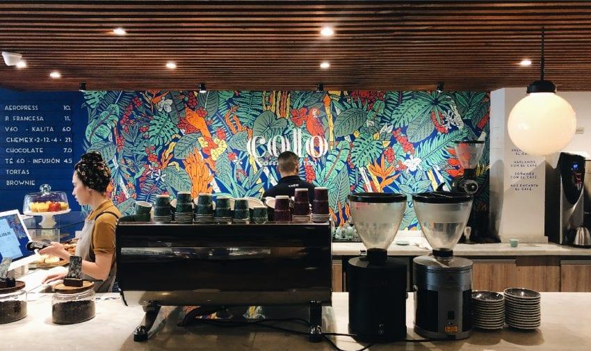 Кофейня Colo Coffee в Боготе, Колумбия