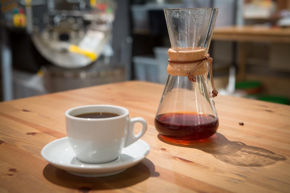 Ароматный кофе из Кемекса