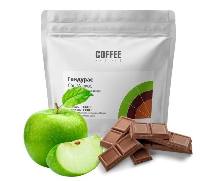 Шоколадный и Сладкий кофе Гондурас Сан Маркос