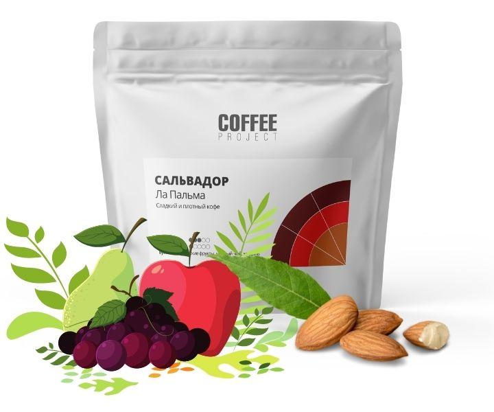 Кофе Сальвадор Ла Пальма