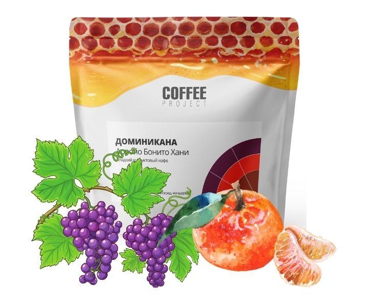 Сладкий и фруктовый кофе Доминикана Арройо Бонито Хани