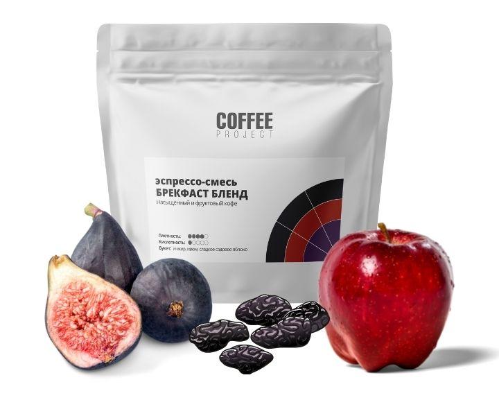 Насыщенный и фруктовый кофе Брекфаст Бленд