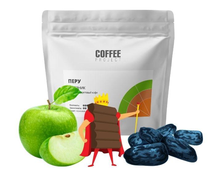Мягкий и успокаивающий кофе Перу Органик